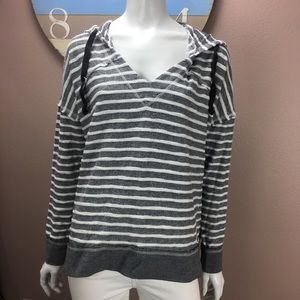 Rip Curl hooded Sweatshirt striped pullover